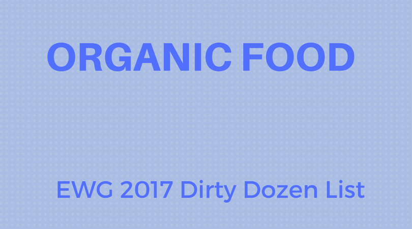 Eating Organic and the New Dirty Dozen List