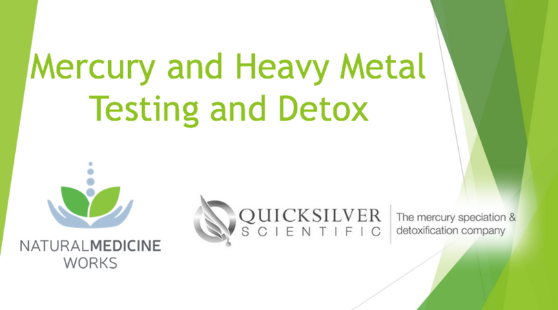 Testing for Mercury and Heavy Metals