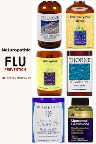 Naturopathic Flu Prevention Protocol
