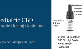 CBD Dose Guidelines for Pediatrics and Adults